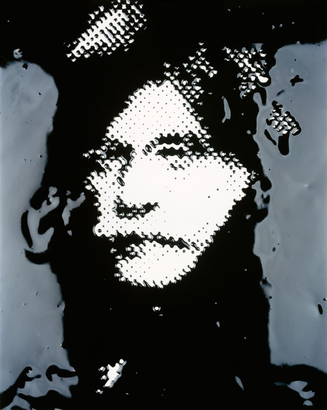 Vik Muniz. 'Alfred Stieglitz (from the series Pictures of Ink)' 2000