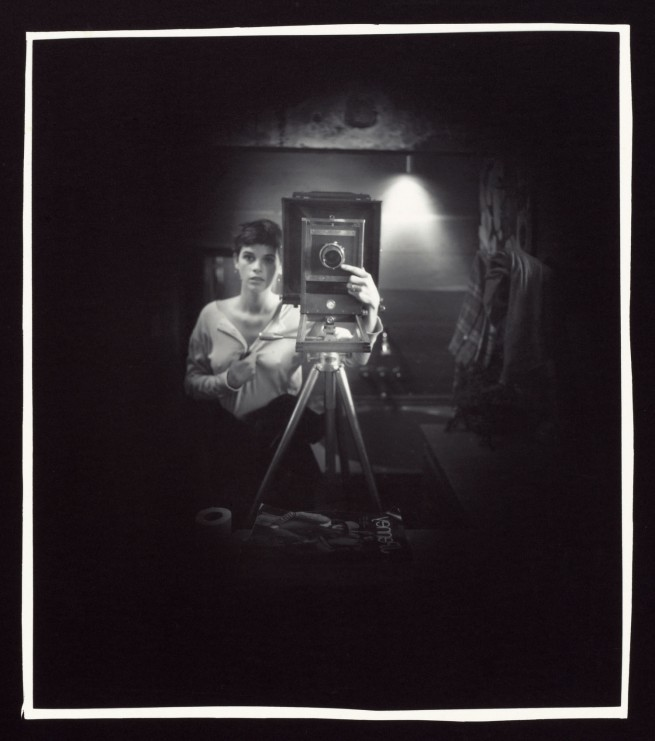 Sally Mann. 'Self-Portrait' 1974
