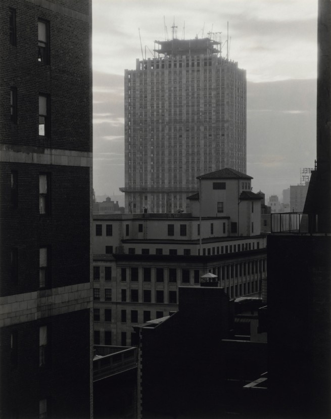 Alfred Stieglitz. 'From My Window at An American Place, Southwest' April 1932