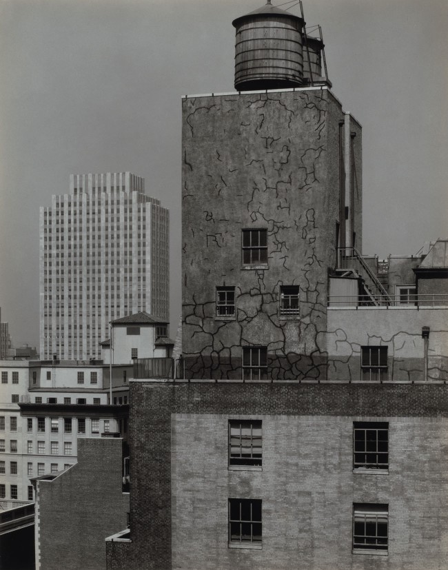 Alfred Stieglitz. 'Water Tower and Radio City, New York' 1933