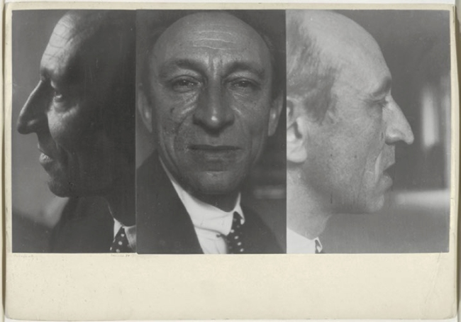 Josef Albers (American, born Germany 1888-1976) 'Amédée Ozenfant, summer 1931'