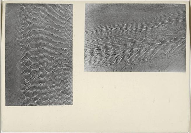 Josef Albers (American, born Germany 1888-1976) 'Brackish water, Biarritz, August 1929'