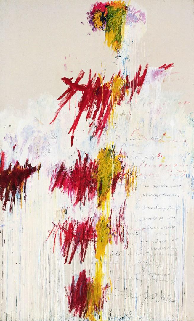 Cy Twombly. 'Quattro Stagioni: Primavera' 1993-1995