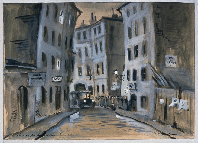 Otto Erdmann and Georg Wilhelm Pabst. 'Die Freudlose Gasse (The Joyless Street)' 1923