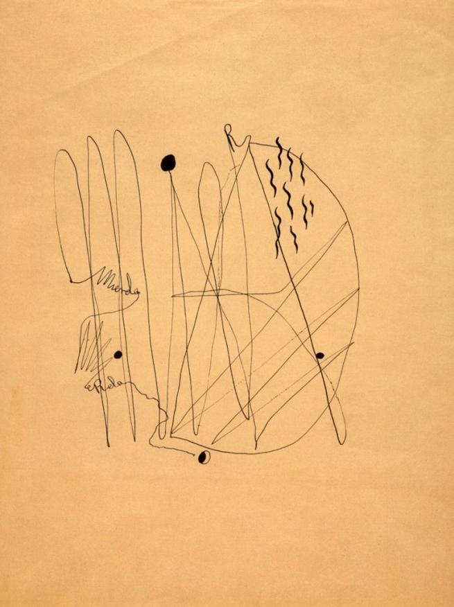 Federico. 'García Lorca Mierda (Shit)' 1934