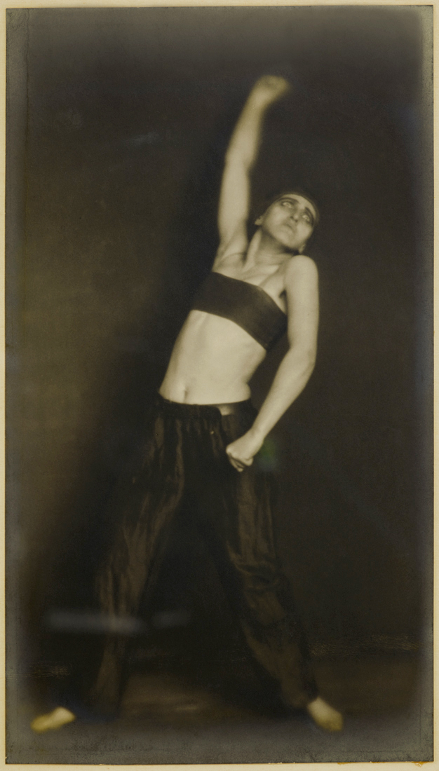 "Germaine Krull. 'The Dancer Jo Mihaly, danse ""Révolution""' 1925"