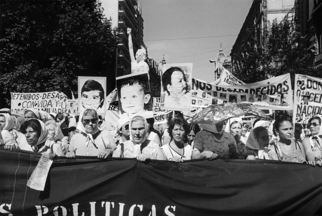 Eduardo Gil. 'Niños desaparecidos. Secunda Marcha de la Resistancia (Murdered children. Second Resistance March)' December 9-10 1982
