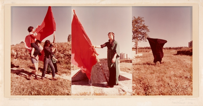 Hélio Oiticica and Leandro Katz. 'Parangolé - Encuentros de Pamplona' 1972