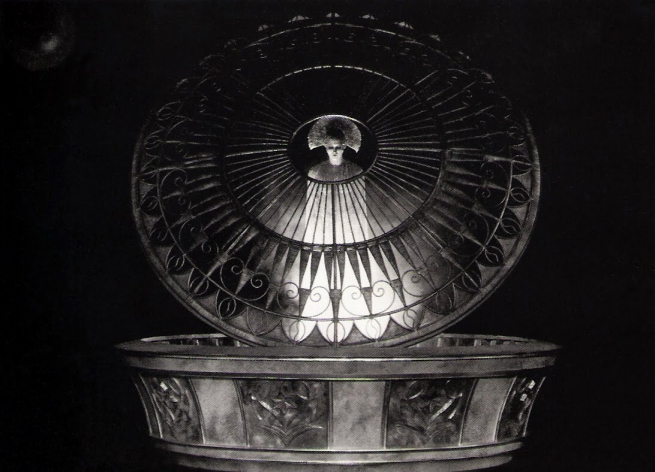 "Horst von Harbou. 'Set photograph from ""Metropolis""' 1927"