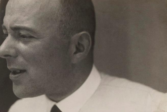Josef Albers (American, born Germany 1888-1976) 'El Lissitzky, Dessau' 1930/1932 (detail)