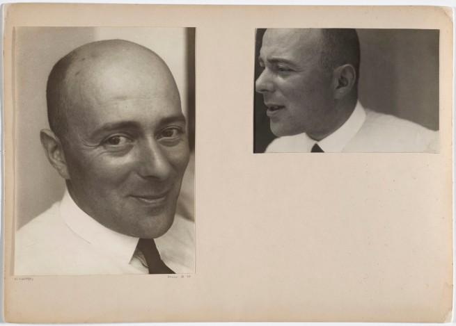 Josef Albers (American, born Germany 1888-1976) 'El Lissitzky, Dessau' 1930/1932