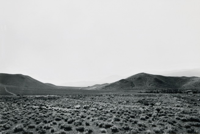Lewis Baltz. 'Hidden Valley, Looking South' 1977