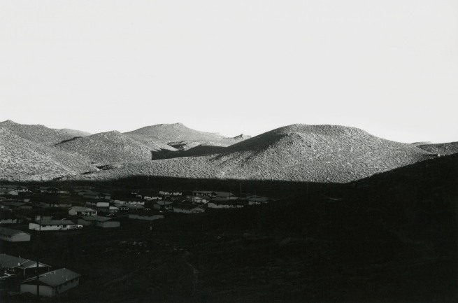 Lewis Baltz. 'Lemmon Valley, Looking Northeast' 1977