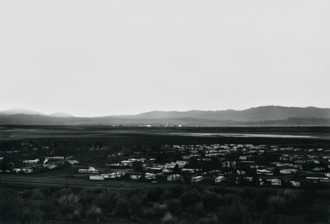 Lewis Baltz. 'Lemmon Valley, Looking Northwest, Toward Stead' 1977