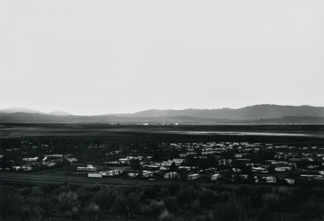 Lewis Baltz. 'Lemmon Valley, Looking Northwest, Toward Stead' 1977