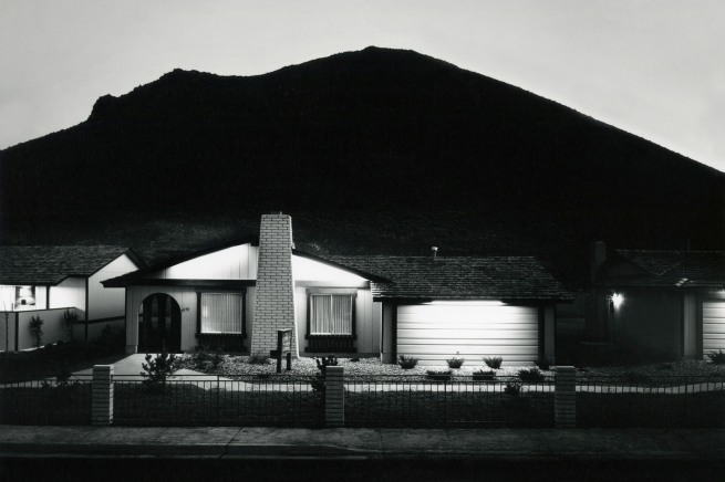 Lewis Baltz. 'Model Home, Shadow Mountian' 1977