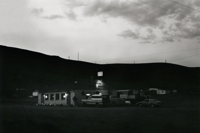 Lewis Baltz. 'Mustang Bridge Exit, Interstate 80' 1977