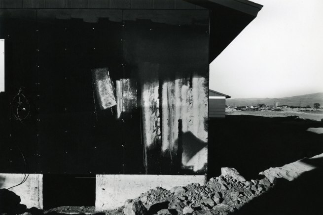 Lewis Baltz. 'New Construction, Shadow Mountain' 1977