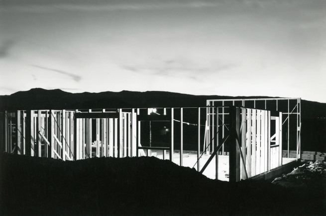 Lewis Baltz. 'Night Construction' 1977