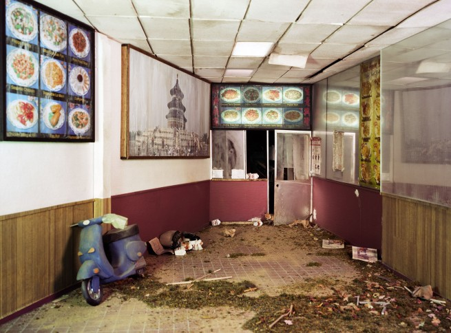 Lori Nix. 'Chinese Take-Out' 2013