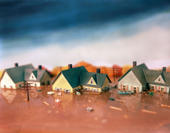 Lori Nix. 'Flood' 1998
