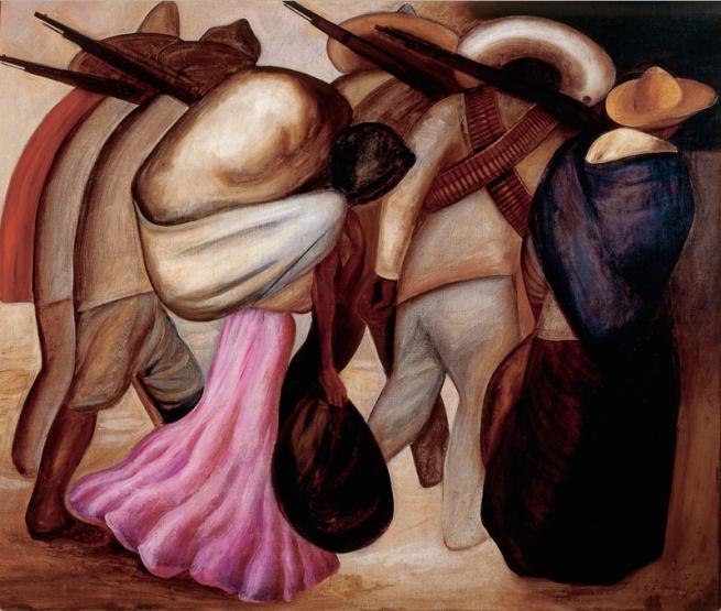 José Clemente Orozco (1883-1949) 'Les Femmes des soldats (The Women Soldiers)' 1926