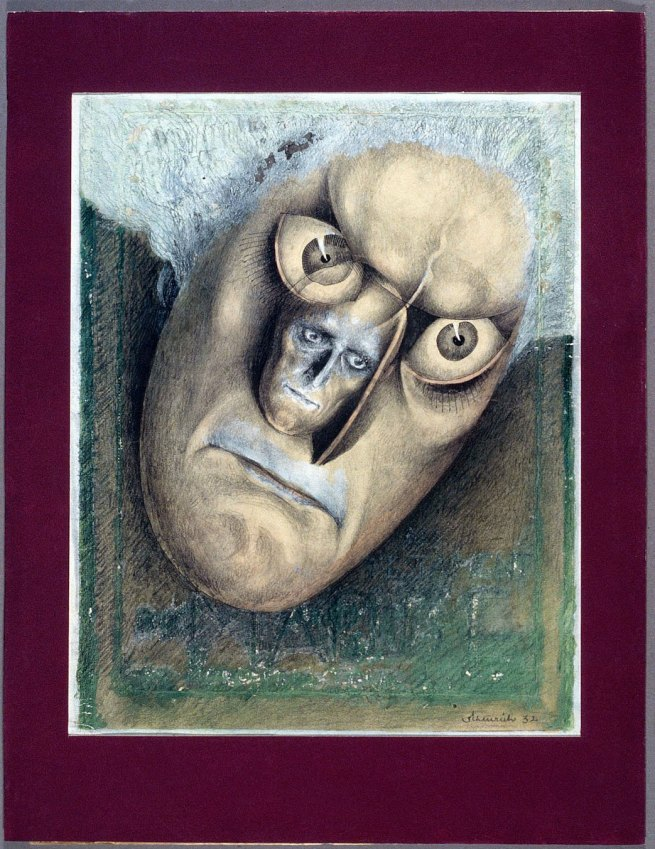 "Paul Scheurich. 'Poster design for Fritz Lang's ""Das Testament des Dr Mabuse""' 1932"
