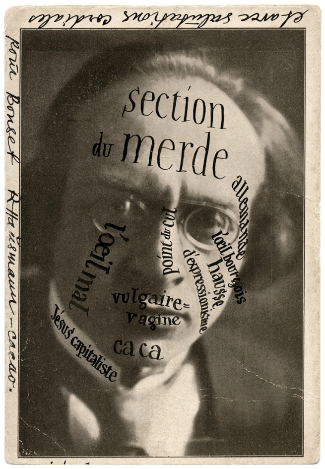 Raoul Hausman. 'Portrait of Herwarth Walden at Bonset' 1921