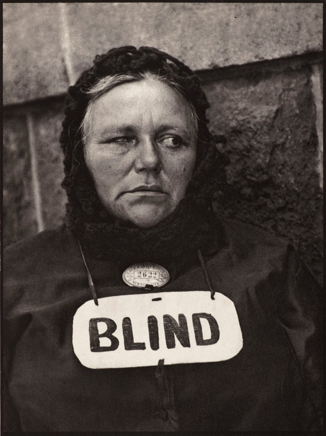 Paul Strand (American 1890-1976) 'Blind woman, New York' 1916