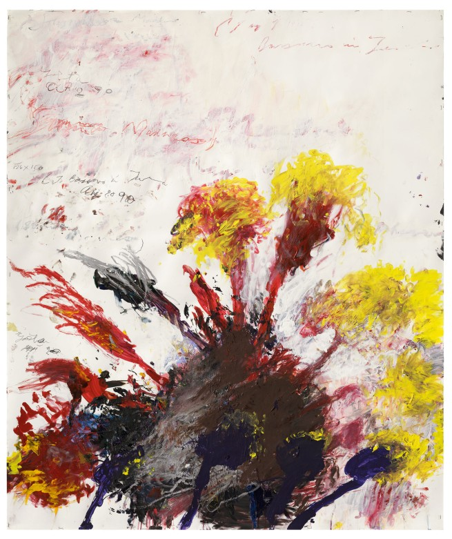 Cy Twombly. 'Summer Madness' 1990