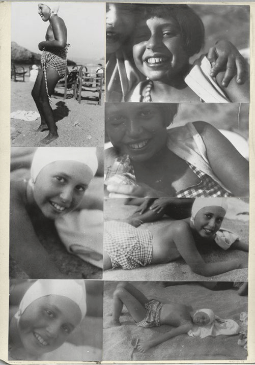 Josef Albers (American, born Germany 1888-1976) 'Susanne, Biarritz, August 1929'