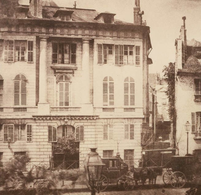 William Henry Fox Talbot. 'The Boulevards of Paris' 1843