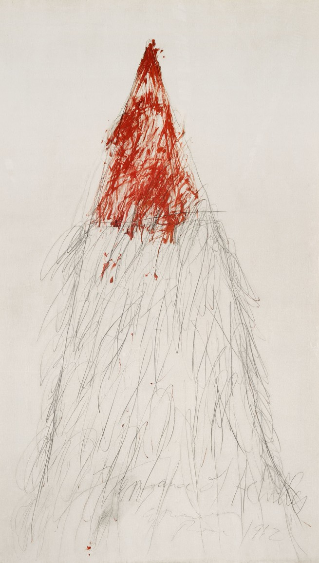 Cy Twombly. 'The Vengeance of Achilles' 1962