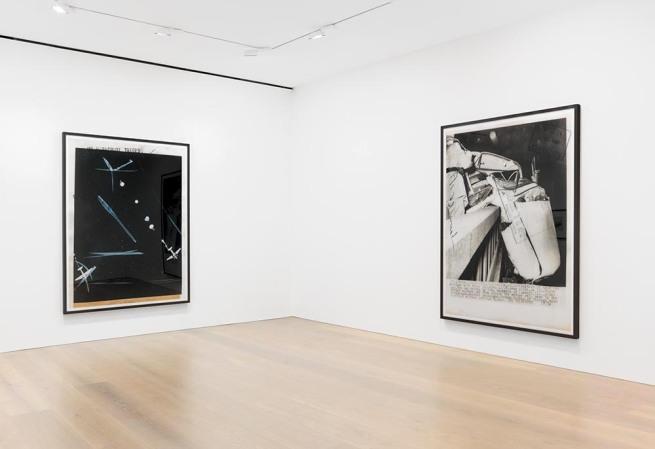 press++28.19, 2016. Chromogenic print, 72 7/8 x 93 3/4 inches (185 x 238 cm) Installation view of Thomas Ruff's New Works at David Zwirner New York, November 18 – December 23, 2016