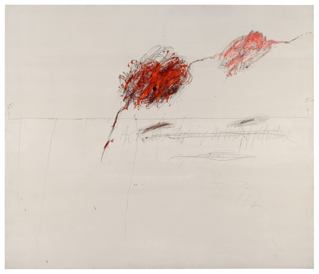 Cy Twombly. 'Achilles Mourning the Death of Patroclus' 1962