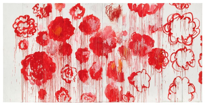Cy Twombly. 'Blooming' 2001-2008