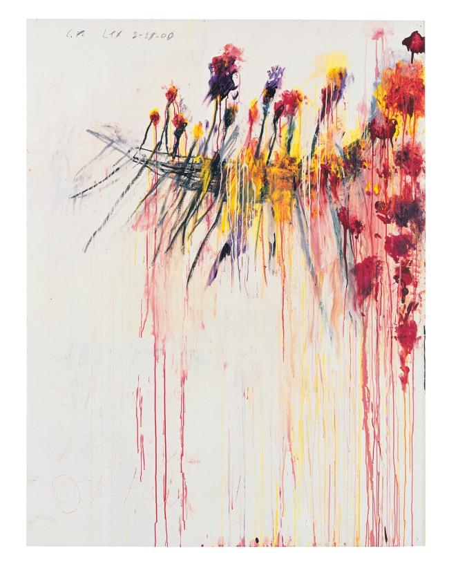 Cy Twombly. 'Coronation of Sesostris (Part V)' 2000