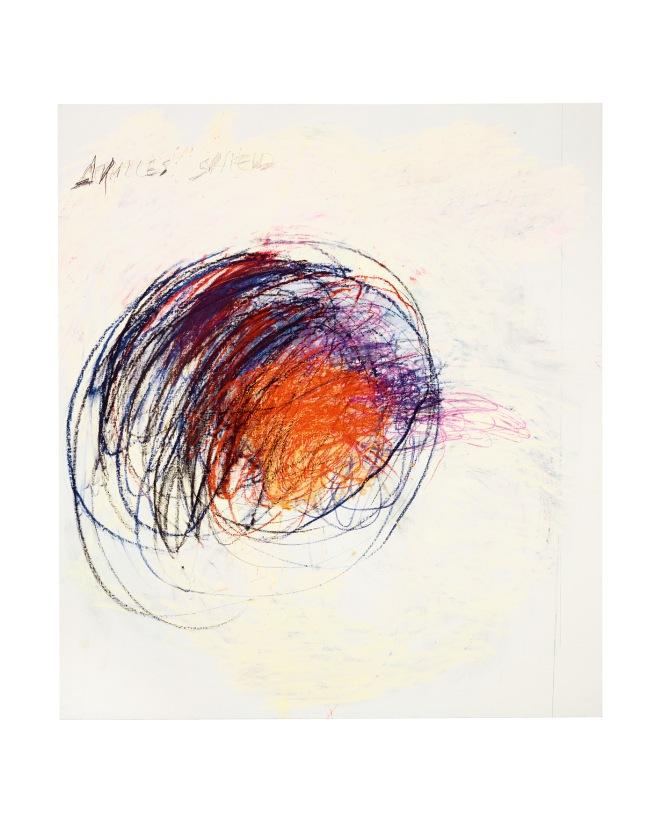 Cy Twombly. 'Fifty Days at Iliam Shield of Achilles (Part 1)' 1978