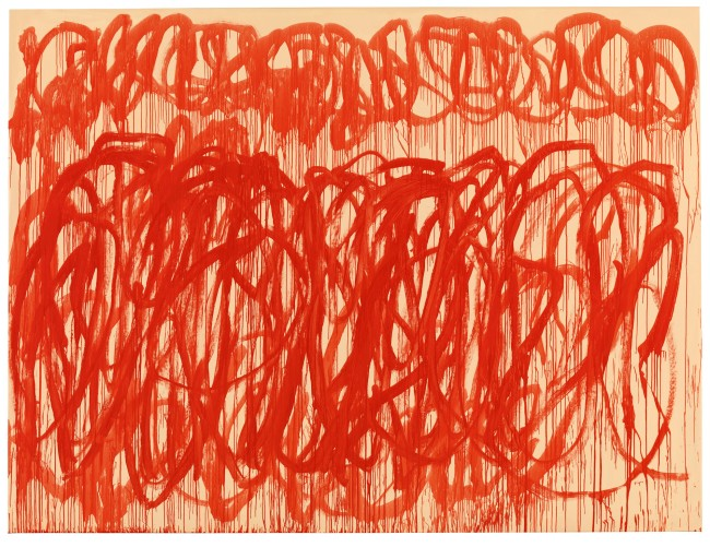 Cy Twombly. 'Untitled (Bacchus)' 2005