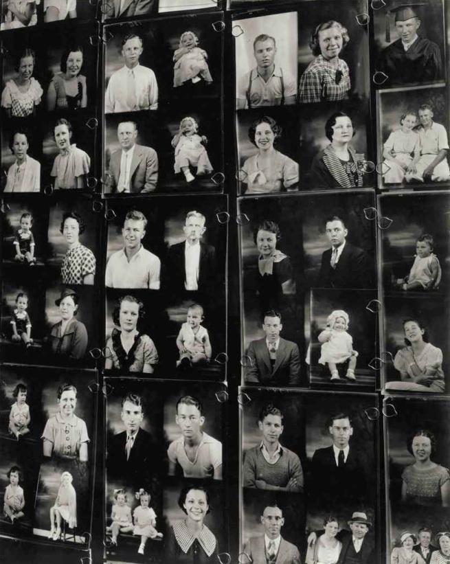 Walker Evans. 'Photographer's Display Window, Birmingham, Alabama' 1936