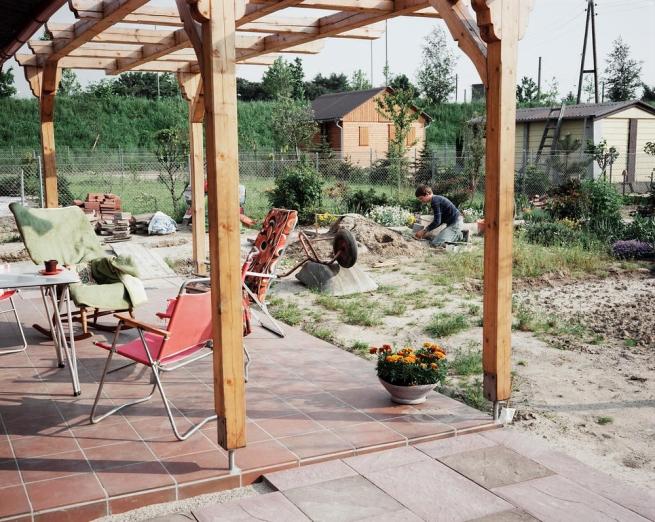 Andreas Gursky. 'Düsseldorf, Terrace' 1980
