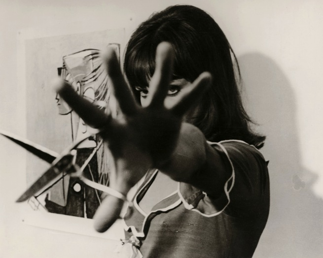 Georges Pierre. Anna Karina in 'Pierrot le fou' 1965