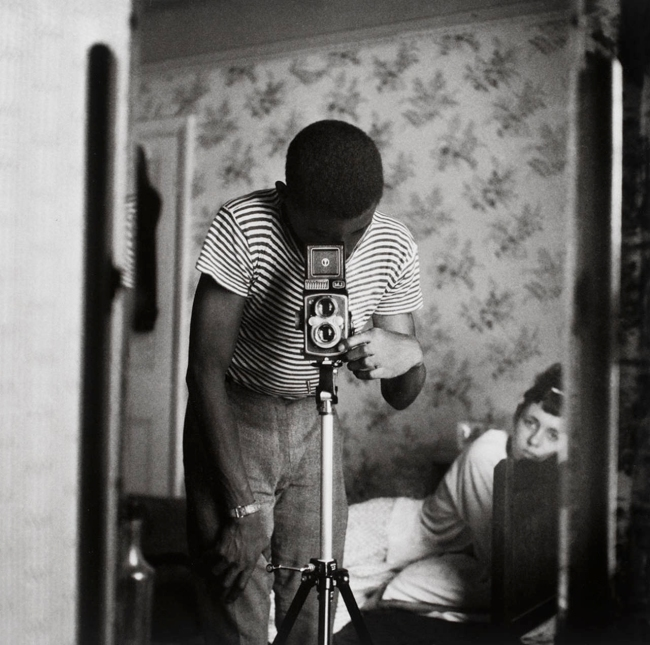 Armet Francis. 'Self-portrait in Mirror' 1964