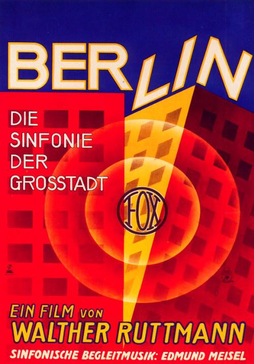 Berlin: Symphony of a Metropolis poster