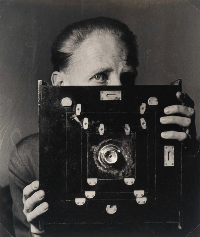 Laelia Goehr. 'Bill Brandt with his Kodak Wide-Angle Camera' 1945