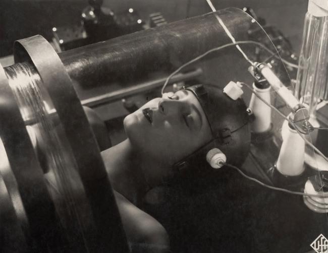 Horst von Harbou. Brigitte Helm in 'Metropolis' 1927