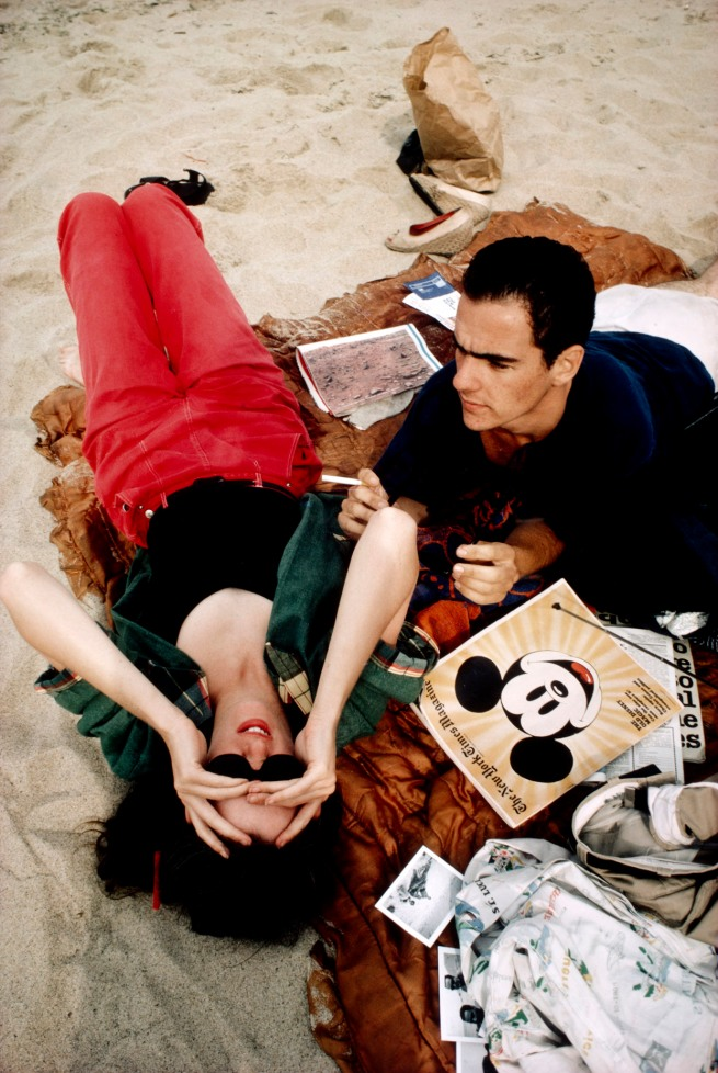 Nan Goldin (American, born 1953) 'C.Z. and Max on the Beach, Truro, Massachusetts' 1976