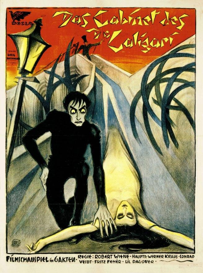 Das Cabinet des Dr. Caligari poster (1919)