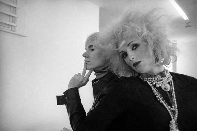 Cecil Beaton. 'Andy Warhol and Candy Darling, New York' 1969