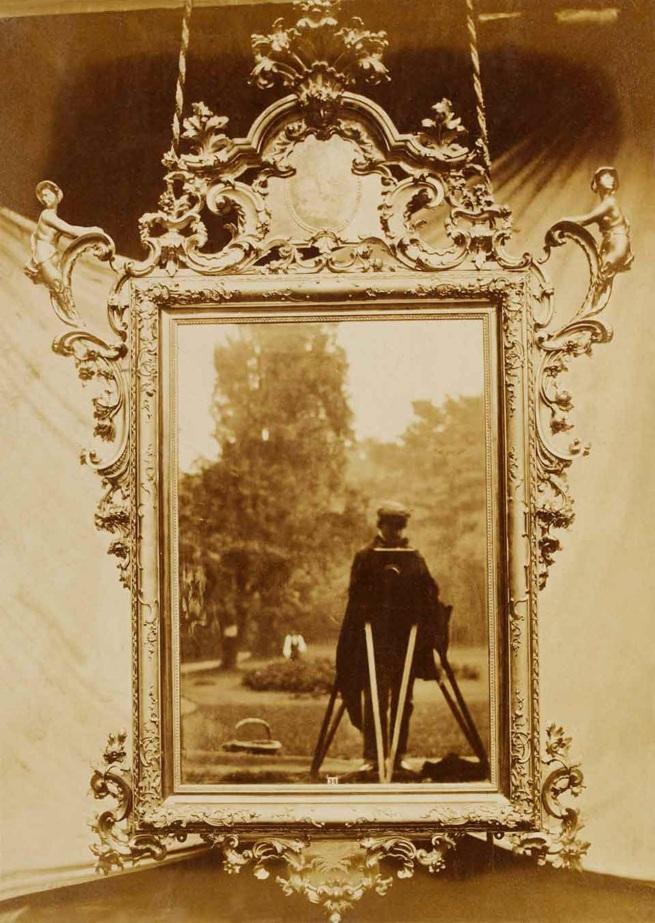 Charles Thurston. 'Thompson Venetian mirror circa 1700' 1853